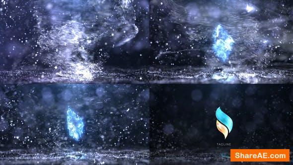 Videohive Snow Logo 34133347