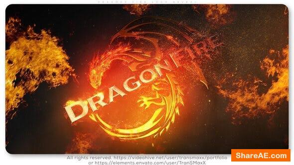 Videohive DragonS Fire Logo Reveal 26473355