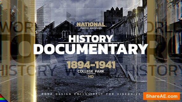 Videohive History Promo 33584618