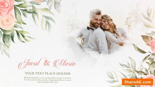 Videohive Wedding Invitation Slideshow 34215322